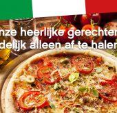Tijdelijk alleen afhalen bij Restaurant I Fratelli!